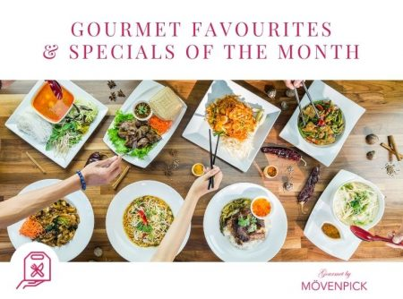 Gourmet Favourites & Specials of the Month