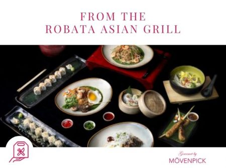 From The Robata Asian Grill